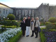 Jardim de Santa Bárbara do Paço Episcopal Bracarense, em Braga, Portugal    Foto: Pedro Andrade