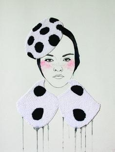 Zupi / Desenhos bordados - Izzyana Suhaimi