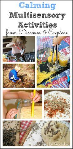Calming Multisensory Activities for Kids