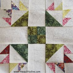 The Quilt Ladies Book Collection: Quilt Block Weekly Block 1: Duck's Foot in the Mud