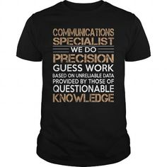 Communications Specialist T Shirts, Hoodie Sweatshirts