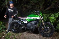 'Urban X' Kawasaki Ninja 650 – Smoked Garage