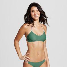 Strappy Back Bralette Bikini Top : Target