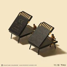 Bigger doesn't always mean better, as Japanese artist Tatsuya Tanaka proves with these tiny dioramas that he makes for his ongoing Miniature Calendar project. Kids Calendar, Calendar Design, Calendar Templates, Printable Calendars, Blank Calendar, Calendar 2020, Free Printable, Wall Calendars, Creative Photography