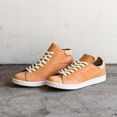 """adidas Originals Stan Smith """"Horween Leather"""" Pack // Available now at Undefeated.com"""