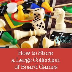 How to Store a Large Collection of Board Games