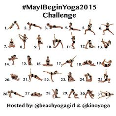 beachyogagirl Announcing the May Yoga Challenge! #mayibeginyoga2015 It really doesn't matter what you wear to practice yoga. There is no uniform required. Just get on your mat. There is no right size, shape, age, gender or nationality to practice yoga. All that matters is that you get on your mat, breathe and do the practice. Yoga is a journey and there is no destination. This months challenge is for those who are ready to start a yoga practice. You don't need to be strong or flexible to…