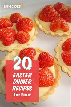 """20 Easter Dinner Recipes for Four 
