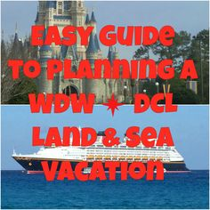 Easy Guide to Planning a Land and Sea Vacation | DCL Prep School