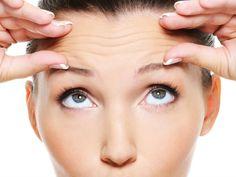 Mascarilla para eliminar las arrugas de la frente