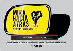 Para vos, chófer de camión, minibus, trufi, taxi y otro vehículo con retrovisor. #LaPaz #Bolivia
