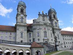 ABBEY OF EINSIEDELN, SWITZERLAND