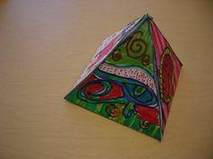 The Elementary Art Room!: Romero Britto Pop Art Pyramids