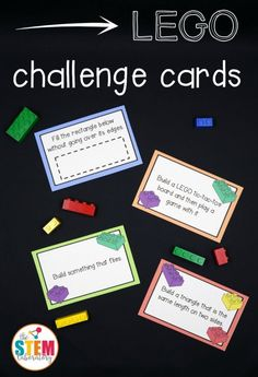 Here is a fun FREE Lego Challenge printable STEM activity. This giant collection of LEGO challenge cards is a simple prep, fun wa