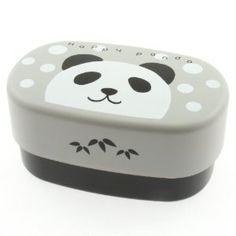 Panda bento box from Amazon.  It's a PANDAAAA.