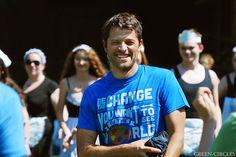 Misha Collins Seattle GISHWHES Meetup August 3, 2014.