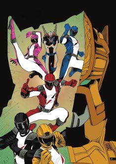 Sabans Power Rangers Artist Tribute in one page for Free Power Rangers Fan Art, Power Rangers Cosplay, Saban's Power Rangers, Power Rangers Operation Overdrive, Read Comics Online, Comic Games, Cultura Pop, Marvel Comics, Marvel Dc