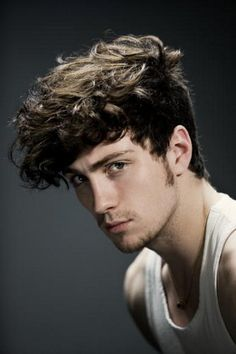 Aaron Johnson. HAIR! His hair! I just want to grab a handful.
