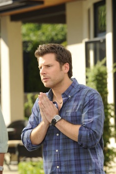James Roday as Shawn Spencer on Psych Shawn And Gus, Shawn Spencer, Real Detective, Psych Quotes, James Roday, Agree To Disagree, Best Actor, Constellation, Actors & Actresses