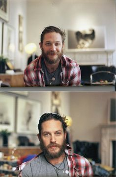 Tom Hardy and the beard of hotness. Tom Hardy, Look At You, How To Look Better, Pretty People, Beautiful People, Beautiful Boys, Sir Anthony, Raining Men, Joseph Gordon Levitt