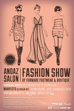 1000 images about photoshop marketing fashion on for Fashion show ticket template