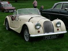 Vintage Car - Morgan 4.4 [POE 25G] 110828 Hutton-in-the-Forest