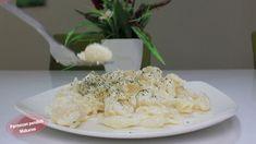 Pasta with parmesan cheese,  Parmezan pendirli makaron