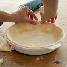 Try this super-easy, four-ingredient pie-crust recipe from Recipe Rehab's Chef Vikki.