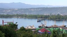 manokwari indonesia | of Manokwari city, the capital of the West Papua province of Indonesia ...