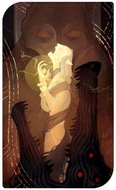 Assana Lavellan: The Devil by Paperwick.deviantart.com on @DeviantArt