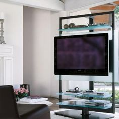 Tv Stand Design for Living Room. Tv Stand Design for Living Room. Tv Stand Modern Design, Contemporary Tv Stands, Tv Stand Designs, Modern Tv Cabinet, Tv Cabinet Design, Room Interior Design, Living Room Interior, Tv Moderna, Tv Stand Room Divider