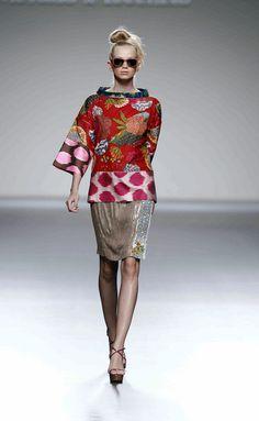 Victorio & Lucchino, Spain SS 2013 kimono inspired collection Japanese Kimono inspired fashion