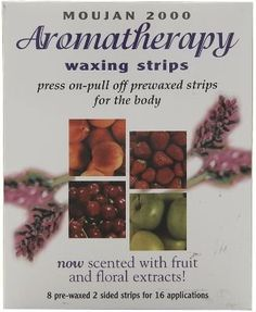 Moujan 2000 Aromatherapy Waxing Strips for Body 16 Applications