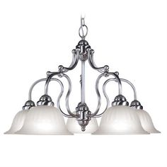 Countryside Chandelier (LVX-4285-91). Countryside - Chandelier - Brushed Nickel - 28.75 x 18 Product Specifications Fixture Type Chandelier Collection Countryside Finish Brushed Nickel Glass Frosted Carved Dimensions 28.75 x 18 Wattage 5 100w Med Weigh.. . See More Chandeliers at http://www.ourgreatshop.com/Chandeliers-C1008.aspx
