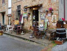 Wine Shop in Bolgheri, Tuscany #italy