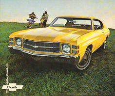1971 Chevrolet Chevelle/ Malibu sales literature