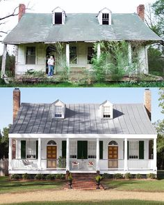 How to Remodel Your Living Room Home Exterior Makeover, Exterior Remodel, Interior And Exterior, Interior Design, Before After Home, House Makeovers, Outdoor Living, Indoor Outdoor, Living Room Remodel