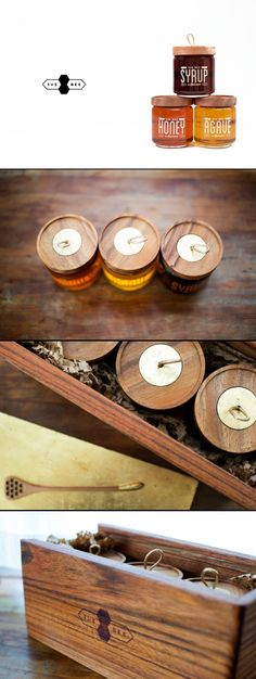 Amazing. Honey / packaging / design / graphic design / soft / eco / timber / wood / natural