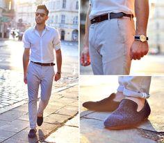 Zara Pants, H&M Loafers