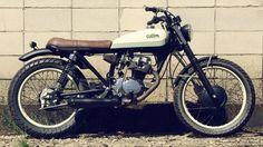 Honda ml 125 cafe racer