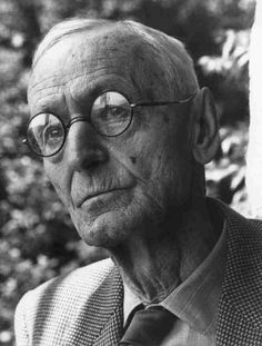 Hermann Hesse (1877–1962), was a German poet, novelist, and painter. His best-known works include Steppenwolf, Siddhartha, and The Glass Bead Game, each of which explores an individual's search for authenticity, self-knowledge and spirituality. In 1946, he received the Nobel Prize in Literature. In his time, Hesse was a popular and influential author in the German-speaking world; world-wide fame would only come later.