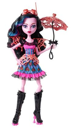 Monster High Freaky Fusion Dracubecca Doll In Stock #DollswithClothingAccessories