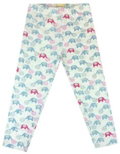 Elephant Organic Capri Leggings