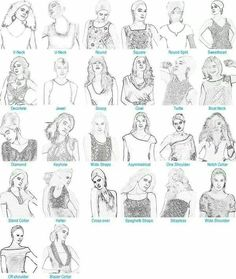 Different bodice types