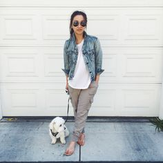 knit lounge pants @ Weekend Recap | Crystalin Marie