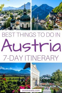Best Austria Itinerary - Austria in Days, TRAVEL, So small and yet so pretty - Austria is a beautiful place to visit and never ceases to amaze me. Here is my day itinerary for Austria (okay, actua. Backpacking Europe, Europe Travel Tips, Travel Advice, Travel Guides, Travel Destinations, Travel Info, Quote Travel, Travel Deals, Beautiful Places To Visit