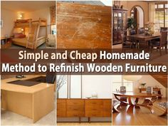 Ok, so hitting a good yard sale or flea market and finding great old furniture is such fun. The problem however, is in refinishing that furniture. You certainly don't want to get an old dresser for a steal and then spend a fortune having it redone. A better way? Why, the DIY way of course. This...