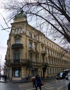 Petersburg in the afternoon