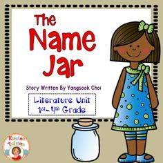 The Name Jar, by Yangsook Choi, is an important picture book about a young girl choosing to embrace her identity.  This literature unit is common core aligned for 1st-3rd grade and also includes name activities that are perfect for the beginning of the year!