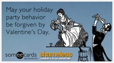 Ecard for people who got too drunk at the office holiday party.